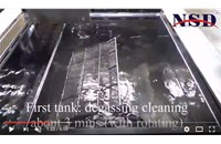 Hydrocarbon Ultrasonic Cleaner Operation Video
